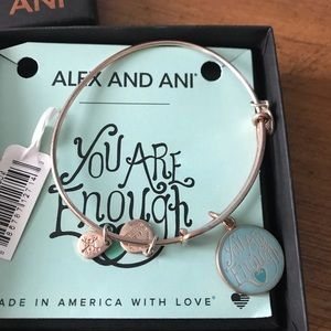 Alex &Ani tose color bracelet